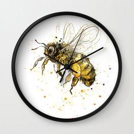 Honey Bee 2012  Wall Clock