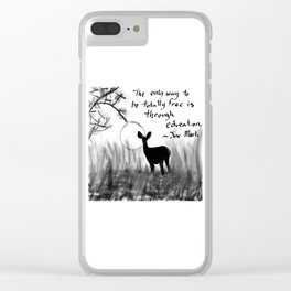 Total Freedom Clear iPhone Case