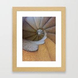 Spanish Spiral Framed Art Print