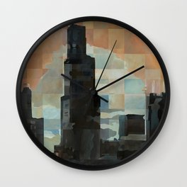 Sears at Sunrise Wall Clock