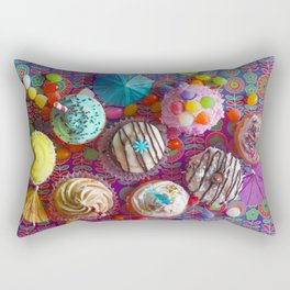 Cupcake du Jour Rectangular Pillow