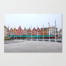 Brugge In Colour Canvas Print