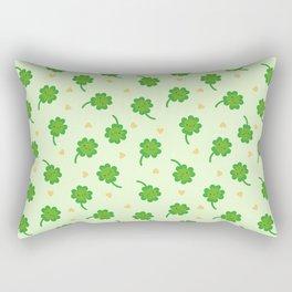 Kawaii Lucky Clover Rectangular Pillow