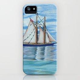 Bluenose II iPhone Case