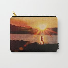 Peaceful Warrior  Carry-All Pouch