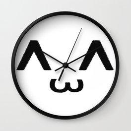 ^ ω ^ Wall Clock