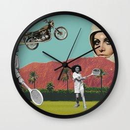 Dystopian Watchdog Wall Clock