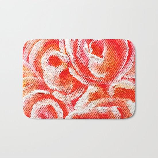 Peach Plum Dreams Bath Mat
