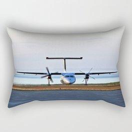 Plane Landing Rectangular Pillow