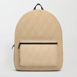 Relaxing Diamond Pattern - Pale Wood Backpack
