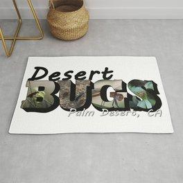 Desert Bugs Big Letter Rug