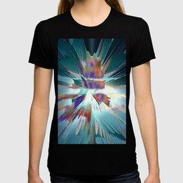 Pow Teal Splash T-shirt
