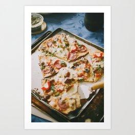 Wood Fired Pizza Art Print
