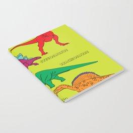 Dinosaur Print - Colors Notebook