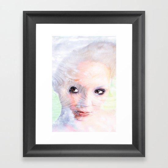 Snow Fairie Framed Art Print