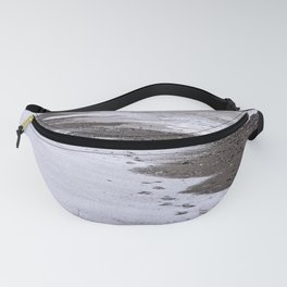 Footprints on the Beach Fanny Pack