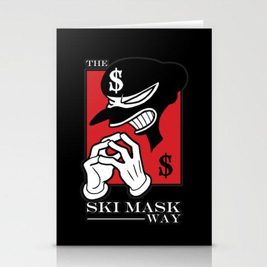 The Ski Mask Way Stationery Cards