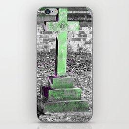 Green Cross Gothic iPhone Skin