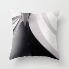 Paper Sculpture #3 Throw Pillow