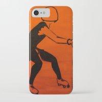 pivot iPhone & iPod Cases featuring Manhattan Mayhem by JezRebelle