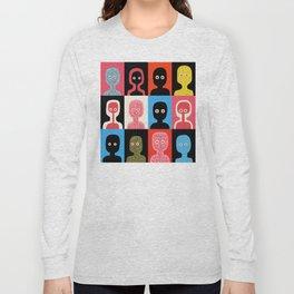 Ghosts Long Sleeve T-shirt