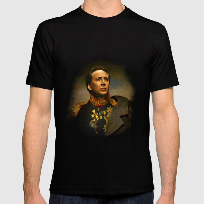 Nicolas Cage - replaceface T-shirt