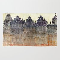 brussels Area & Throw Rugs featuring Brussels by takmaj