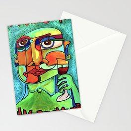 Wine Snob Stationery Cards
