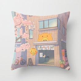 Daisy Mae's Tokyo store Throw Pillow