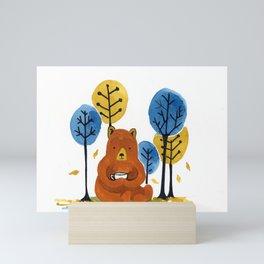 Coffee Bear Mini Art Print