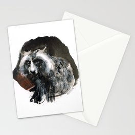 Totem  Racoon dog Stationery Cards