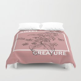 Sweet creature Duvet Cover