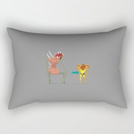 Super Mother Hunter Rectangular Pillow