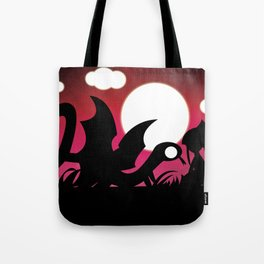 Monsters for Little Girls 005: Sly, with Rebecca Tote Bag