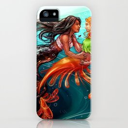 Clizzy Mermaids iPhone Case