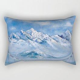 Himalayas. mountain landscape Rectangular Pillow