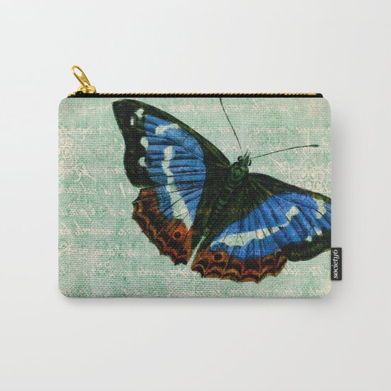 Vintage Butterflies 02 Carry-All Pouch