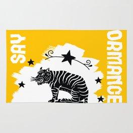Say NO to Animal Performance Tiger 2 Rug