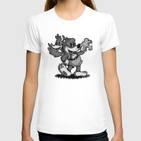 banjo T-shirts featuring Vintage Banjo by Hoborobo
