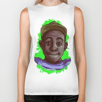 tyler the creator Biker Tanks featuring Tyler The Creator II (Green) by ASHUR Collective™