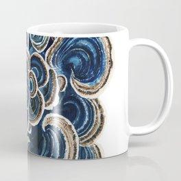 Blue Trametes Mushroom Coffee Mug