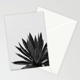 Agave Cactus Black & White Stationery Cards