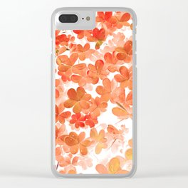 Clover X Clear iPhone Case