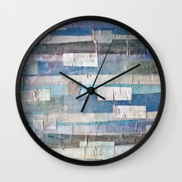 Imaginary Landscapes: Low Tide Wall Clock