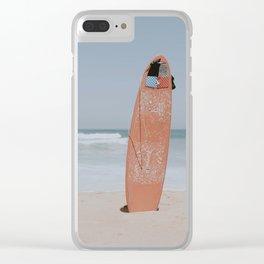 lets surf ix Clear iPhone Case