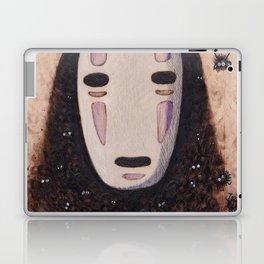 No Face - Spirited Away with Soot sprites (Susuwatari) Laptop & iPad Skin