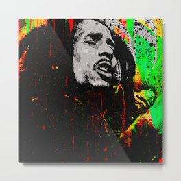 One Love Metal Print