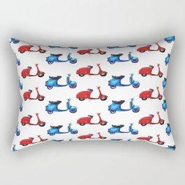 Vespa love Rectangular Pillow