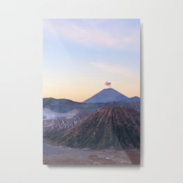 Mount Bromo volcano, Java, Indonesia Metal Print