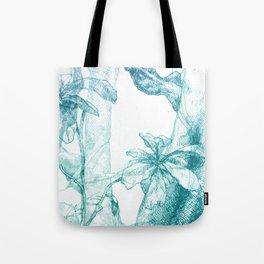 Amazonia (blue) Tote Bag